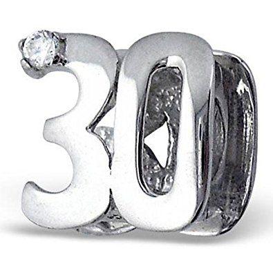 30th Birthday Pandora Charm