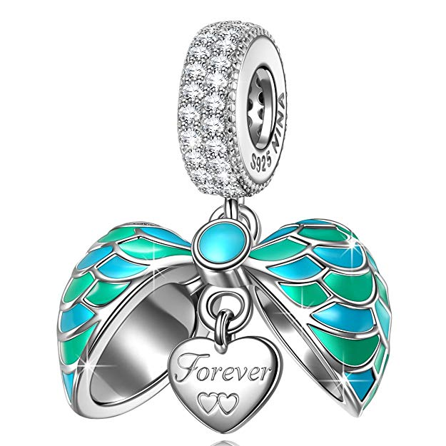 Antique Style Heart Love Pandora Charm