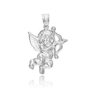 CUPID ANGEL Pendant Charm With Bow and Arrow