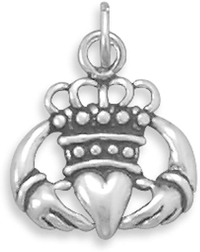 Chamilia Castle And Crown Silver Charm