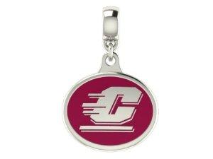 Chamilia Central Michigan CMU Collegiate Bead