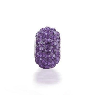 Chamilia Purple Swarovski Crystal Charm