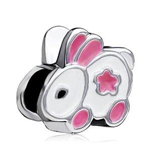 Chamilia Silver Plated Bunny Rabbit Bead