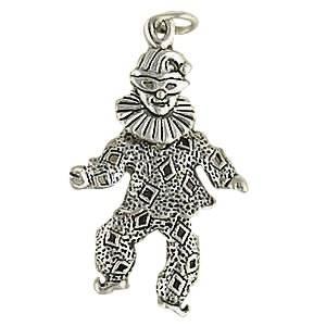 Cute Clown Necklace Pendant Charm