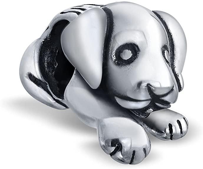Cute Pandora Dog Bead