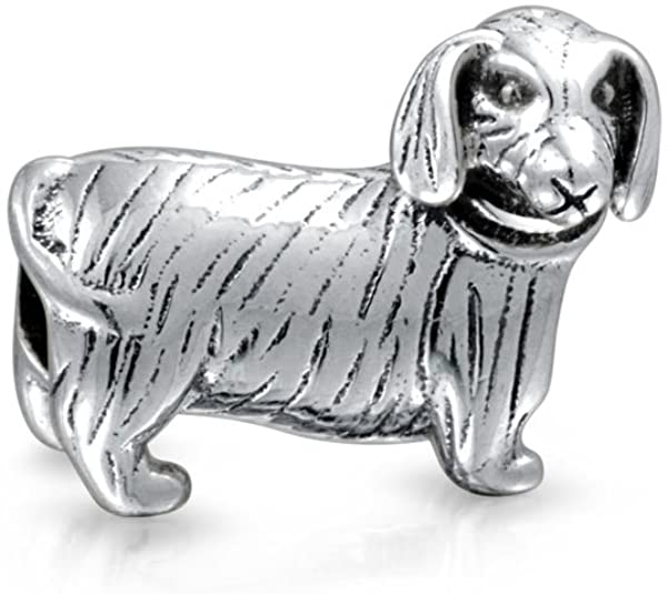 Dachshund Dog Pandora Bead