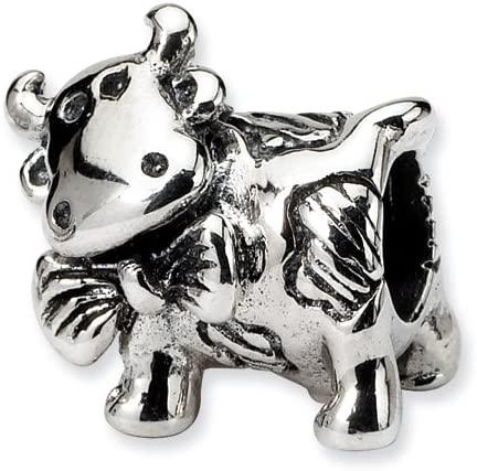 Dairy Cow Pandora Bead