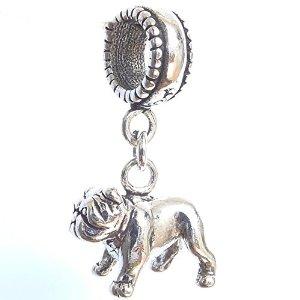 English Bulldog Pandora Charm