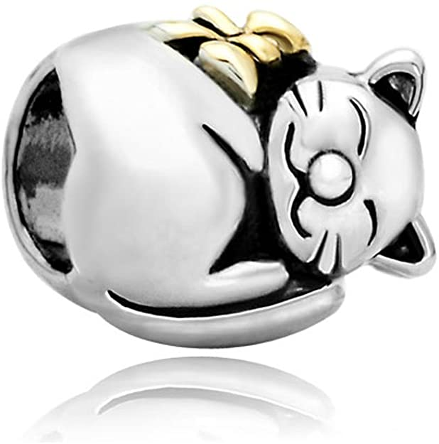 Fat Cat Pandora Bead