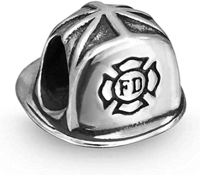 Fireman Pandora Charm