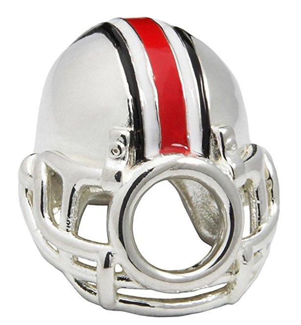 Football Helmet Pandora Charm