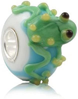 Frog And Lilly Pads Pandora Charm