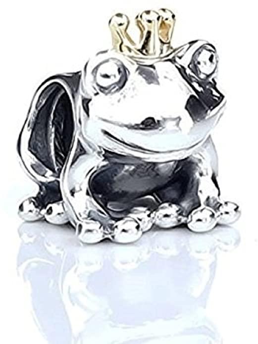 Frog Prince Clear Crystal Pandora Charm