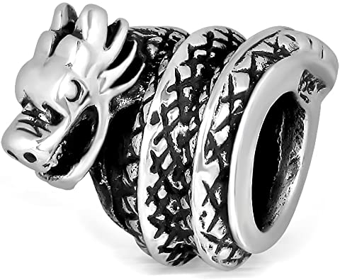 Gargoyle Dragon Pandora Bead