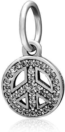 Genuine Pandora Peace Sign Charm