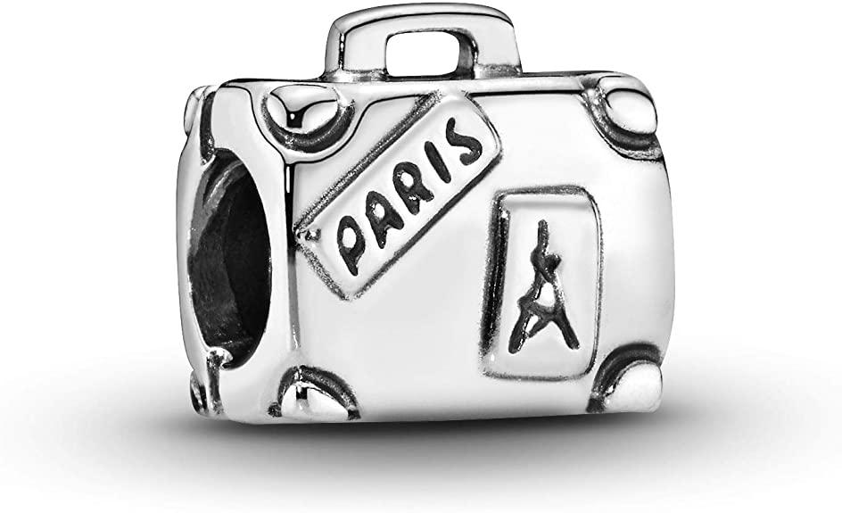 Genuine Pandora Silver Suitcase Charm