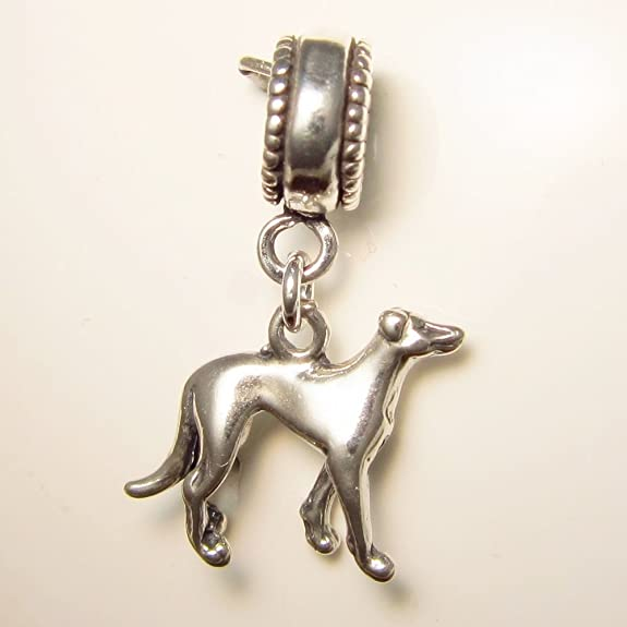 Greyhound Charm That Fits Pandora Bracelet