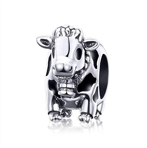 Happy Cow Pandora Charm