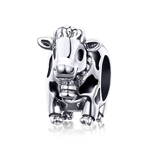 Happy Fatty Pandora Cow Charm