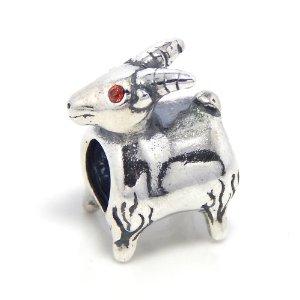 Happy Goat Pandora Bead