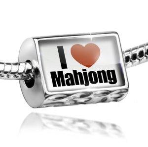 I Love Mahjong Pandora Bead