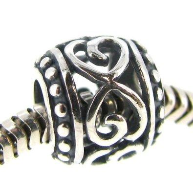 Infinity Heart Pandora Bead