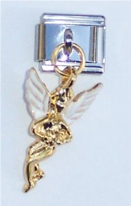 Italian Guardian Angel Charm