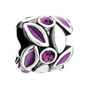 Jeweled Petals With Austrian Crystals Pandora Bead