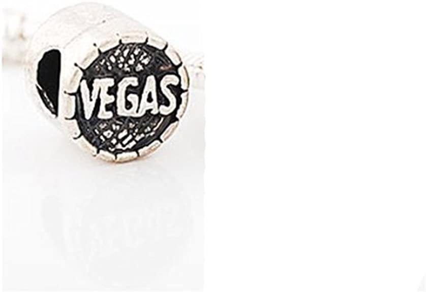 Las Vegas Casino Token Chip Pandora Charm