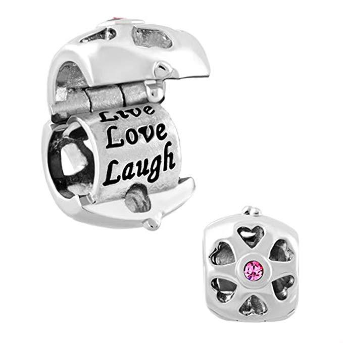 Live Love Laugh Pandora Charm