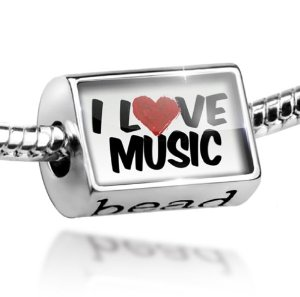 Love Music Alphabet Pandora Charm