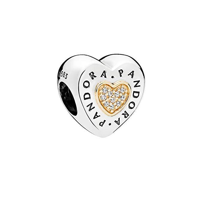 Pandora 14K Gold Heart Charm