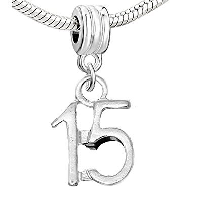 Pandora 15th Birthday Charm