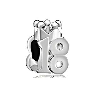 Pandora 18th Birthday Number Charm