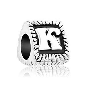 Pandora 3D Letter K Charm