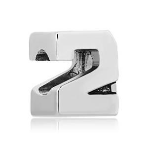 Pandora 3D Number 2 Charm