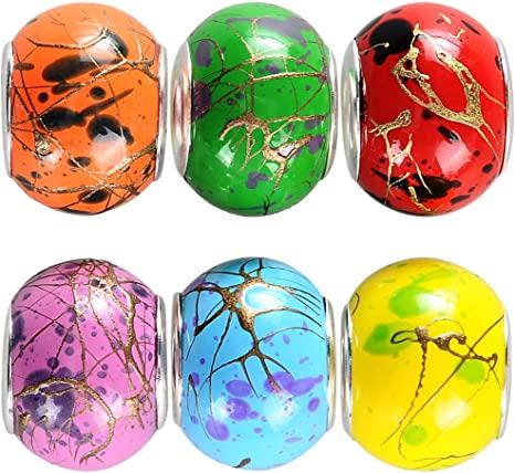 Pandora Abstract Glass Charm