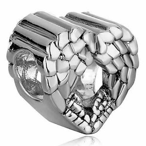 Pandora Angel Wing Love Heart Charm