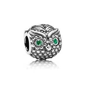Pandora Antique OWL Charm