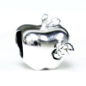 Pandora Apple With Worm Charm