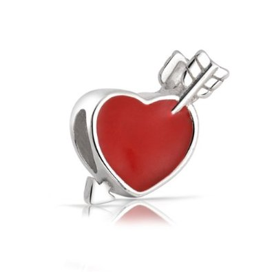 Pandora Arrow in Heart Charm