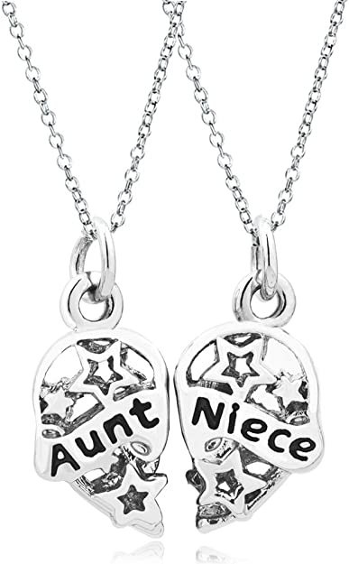 Pandora aunt niece heart charm for Pandora aunt charm jewelry