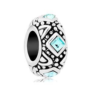 Pandora Austrian Crystals Square Charm