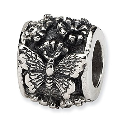 Pandora Beaded Butterfly Charm