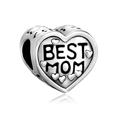 Pandora Best Mom Heart Charm
