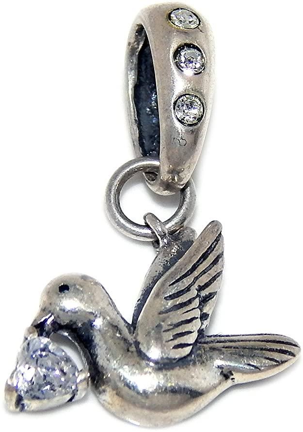 Pandora Bird Of Peace CZ Dangle Charm