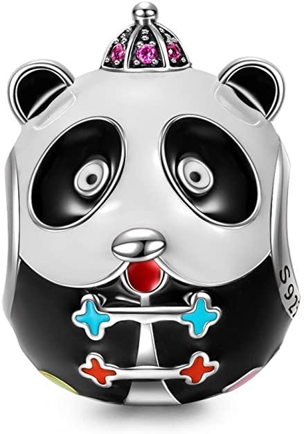 Pandora Black Enamel Panda Charm