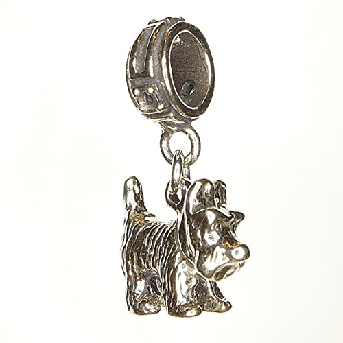 Pandora Black Scottie Dog Charm