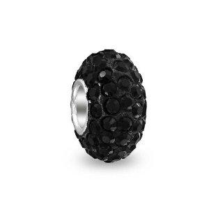 Pandora Black Swarovski Crystals Charm