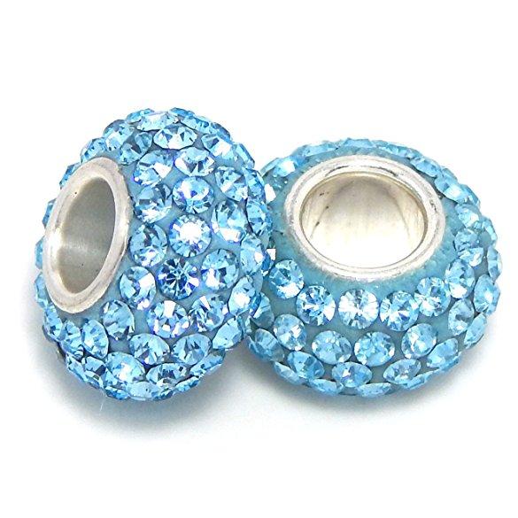 684939de9eb87 Pandora Blue Aquamarine Swarovski Crystal Charm | Buy Top Rated Charms